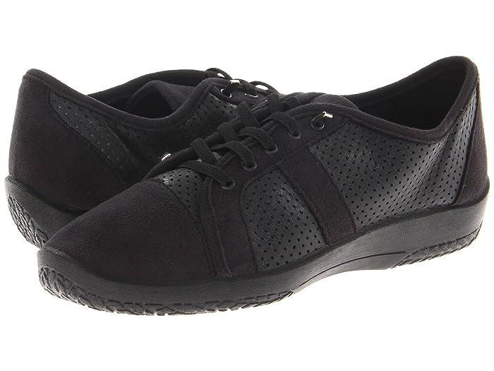 Arcopedico  Leta (Black) Womens Lace up casual Shoes