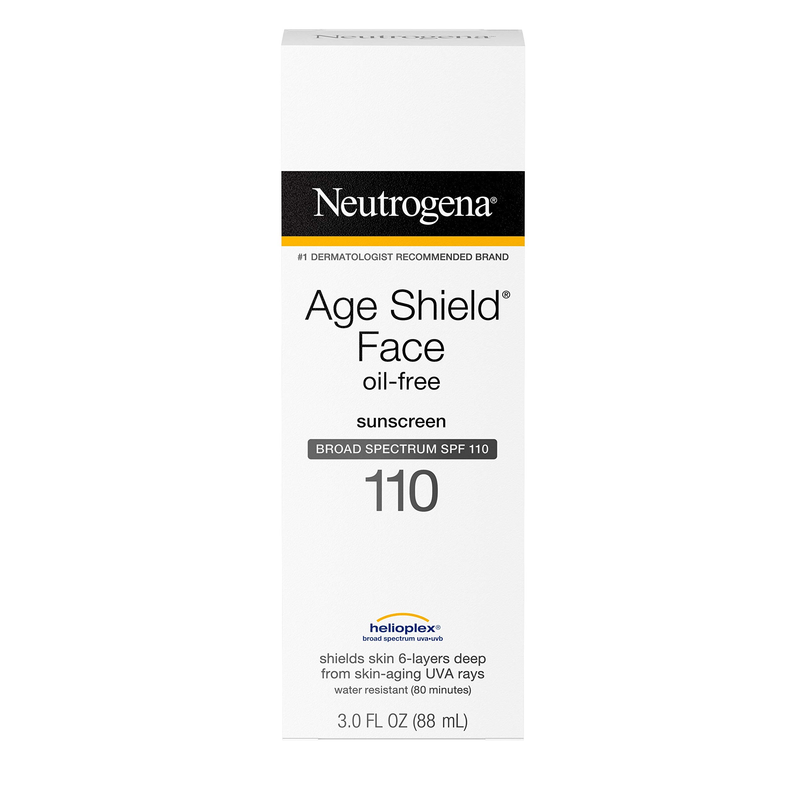 Neutrogena Sunscreen Spectrum Non Comedogenic Moisturizing