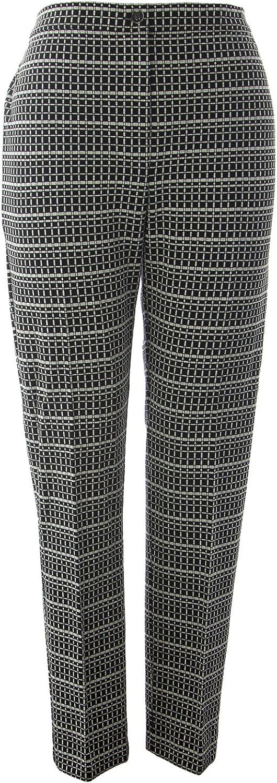 Marina Rinaldi Women's Oblo Printed Trousers Multicolor