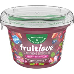 Fruitlove Harvest Berry Blend Spoonable Smoothie (5.3 oz Cup & Spoon)