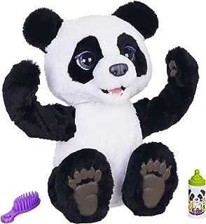 Figura Plum, a Filhote de Panda Curiosa - Hasbro, Furreal, Preto/Branco