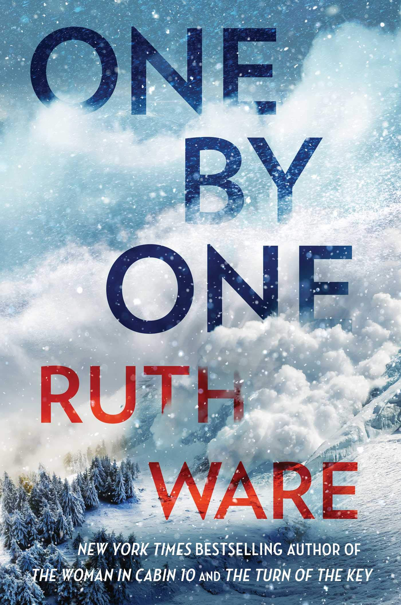 Cover image of One by One by Ruth Ware