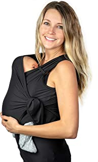 Nesting Days Newborn Carrier (Black, X-Small)