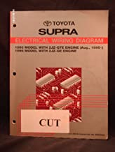 1995 1996 Toyota Supra Electrical Wiring Diagram Shop Repair Manual (1995 Model with 2JZ-GTE Engine & 1996 Model with 2JZ-GE Engine)