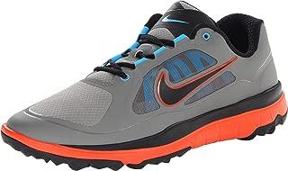 Golf Men's NIKE FI Impact Golf Shoe, Med Base Grey/Team Orange//Black, 9.5 D(M) US