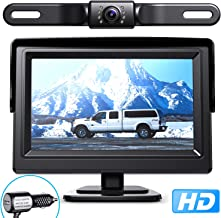 eRapta Backup Camera ERT01 with 4.3 inch Monitor License Plate Back Up Camera for Car..