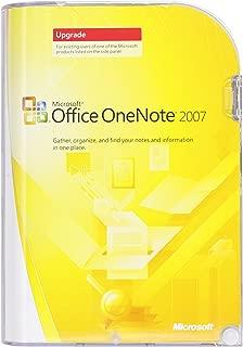 Microsoft OneNote 2007 UPGRADE [Old Version]