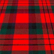 iLuv 16oz Fabric Material Macduff Modern Tartan Heavy Weight 1 Metre