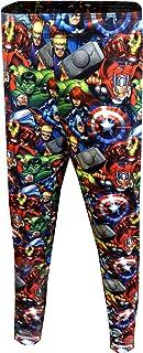 Marvel Men's Comics Avengers Character Mash Up Jogger Lounge Pants