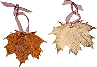 Best real leaf ornaments Reviews