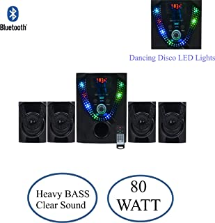 Eccellente 4.1 Bluetooth Music System Home Theatre 4 Speaker 1 Bass Woofer_HT139