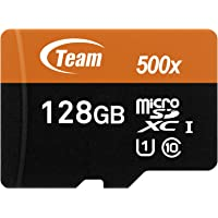 Deals on Team 128GB microSDXC UHS-I/U1 Class 10 Memory Card