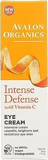 Avalon Organics Intense Defense Eye Cream, 1 oz. (Pack of 2)