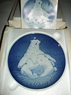 Bing & Grondahl 1974 Mother's Day Plate