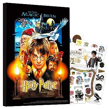 "HARRY POTTER Poster Wall Art Set ~ Mounted Print (8"" x 11"") Room Decor (Sorcerer's Stone)"