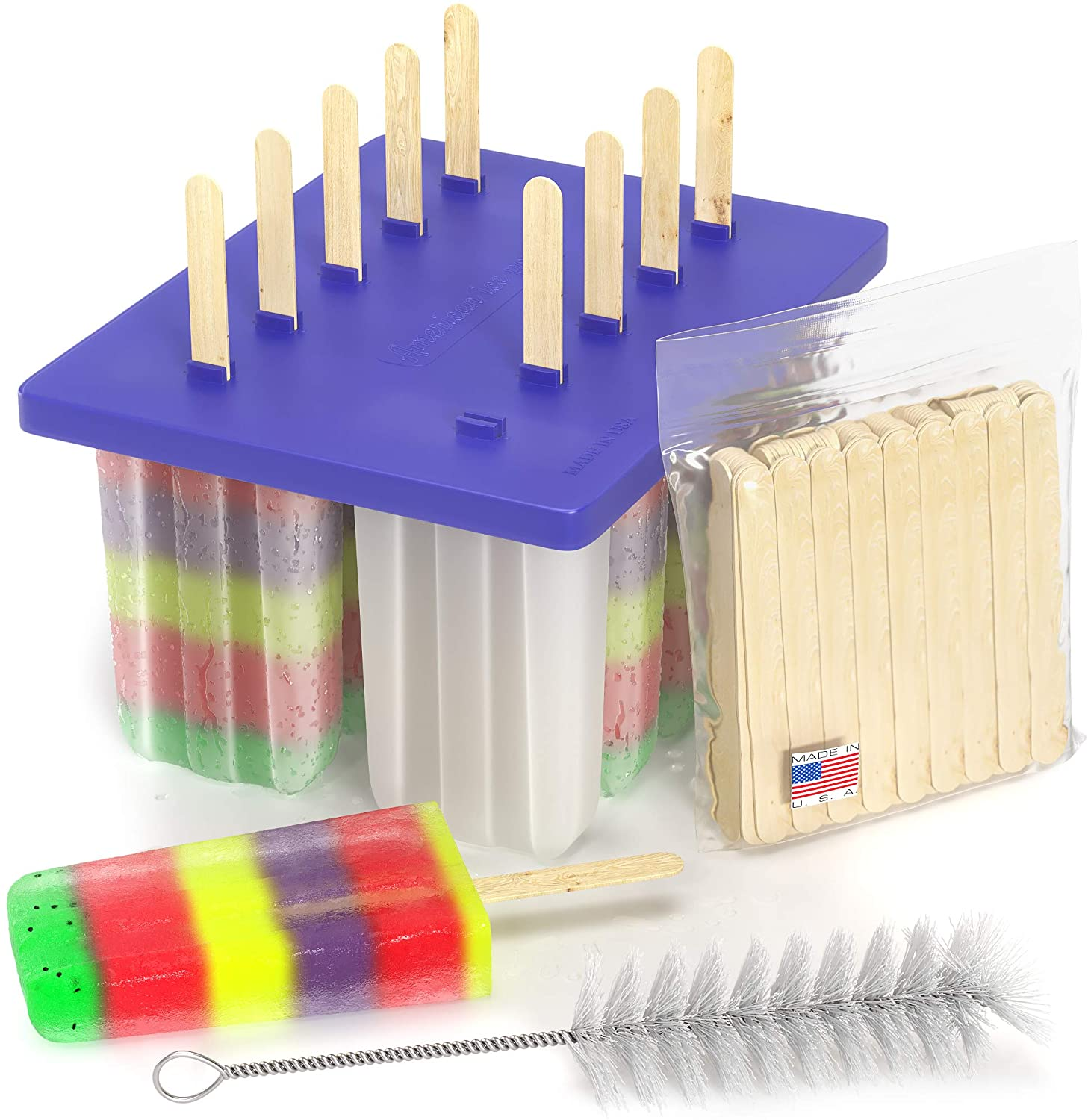 American Ice Pop Maker - Frozen Para Moldes Recommendation Selling Pa Popsicle Kit Mold
