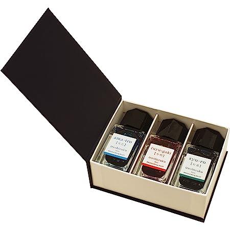 Pilot Iroshizuku Mini Fountain Pen Ink - 15 ml Bottle 3 Colors Set - AMA/FG/SY (Japan Import)