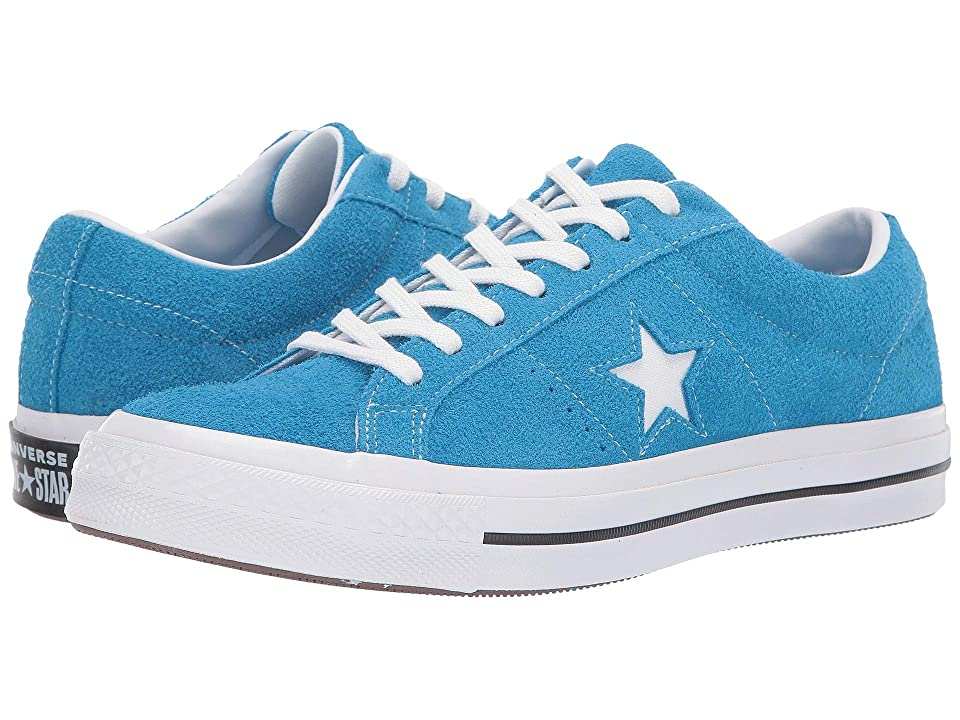 Converse One Star Ox (Blue Hero/White/White) Men