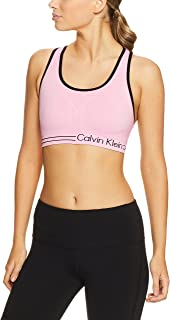 Calvin Klein Women's Seamless Sports Bra With Logo Detail