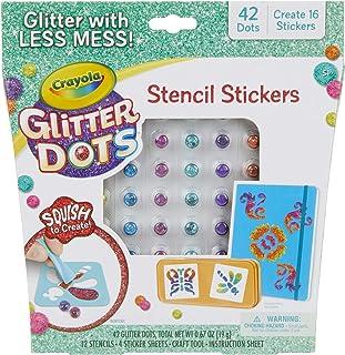 Crayola Glitter Dots, Glitter Art Mosaics, Sparkle Fills 04-0628
