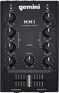 Gemini MM-1 - Mini 2-kanaals DJ Mixer