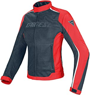 Dainese Women's Hydra Flux D-Dry Jacket (42) (Black/RED/White)