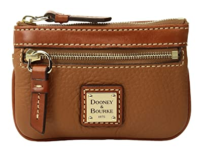 Dooney & Bourke Pebble Small Coin Case (Caramel) Coin Purse