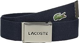 Lacoste - 40mm Woven Strap Belt