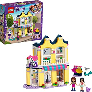 LEGO Friends Emma's Fashion Shop 41427 building set with Emma and Andrea mini-dolls and accessories, Toy for Kids 6+ years...