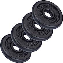 ScSPORTS® Halterschijven set 5 kg, Gietijzer, 4 x 1,25 kg halterschijf, Boring 30 mm, Gewichten, Voor fitness- en krachttr...