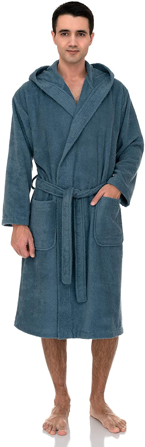 TowelSelections Men's Fort Worth Mall Hooded Robe Turkish 67% OFF of fixed price Clo Terry Cotton
