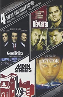 4 Film Favorites: Martin Scorsese (Goodfellas, The Departed, The Aviator, Mean Streets)
