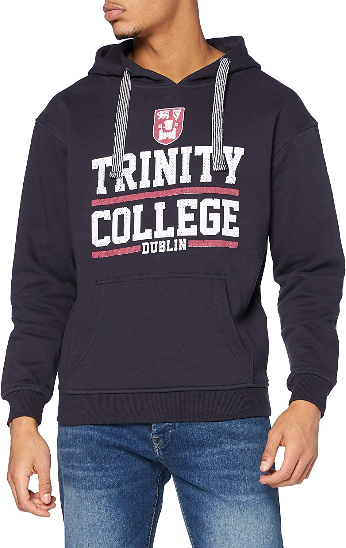 Navy and White Trinity Ranking TOP16 Selling rankings College Ireland Hoodie Dublin Mesh