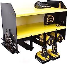 DeWalt batería y taladro herramienta accesorio de estantería de almacenamiento titular organizador de taller