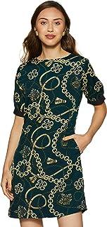 KRAVE Synthetic Shift Dress