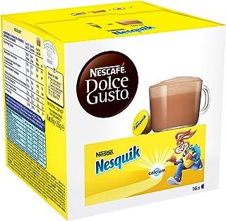 Nescafé Dolce Gusto Nesquik - Chocolat - 96 Capsules (Pack de 6 boîtes x 16)