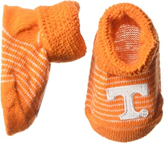 Two Feet Ahead Infant Stripe Gift Box Booties