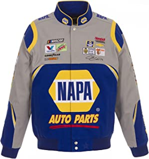 J.H. Design 2018 Chase Elliott Napa Uniform NASCAR Jacket Size Large