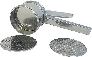 Eppicotispai Stainless Steel Potato Masher/Ricer with 2 Inserts