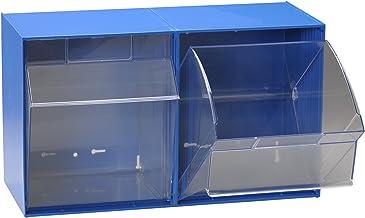 hünersdorff Transparante container/opbergdoos/grendel voor een optimaal MultiStore-opslagsysteem in de bouwdoos principe v...