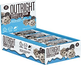 Outright Bar - Whole Food Protein Bar - 12 Pack - MTS Nutrition (Peanut Butter Cookies & Cream) *Not Gluten Free*
