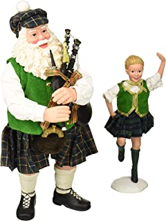 Department 56 Celtic Holiday Santa Country Dance Figurine, 11