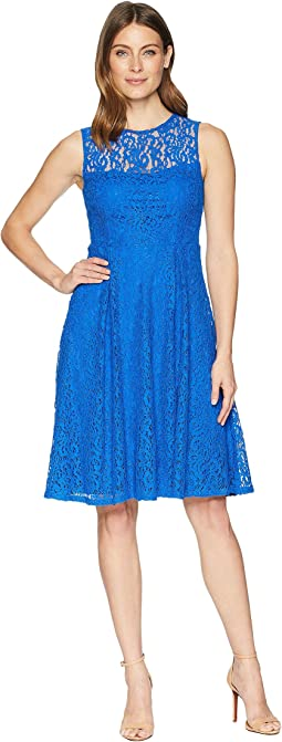 Lace Fit & Flare Dress CD8L15QG