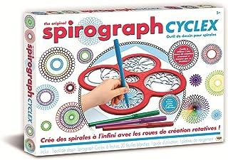 SPIROGRAPH - CYCLEX - outil de dessin avec pochoirs intégrés