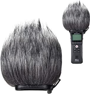 YOUSHARES Zoom H1n Recorder Furry Outdoor Windscreen Muff, Pop Filter/Wind Cover Shield Fits Zoom H1n & H1 Handy Portable Recorder