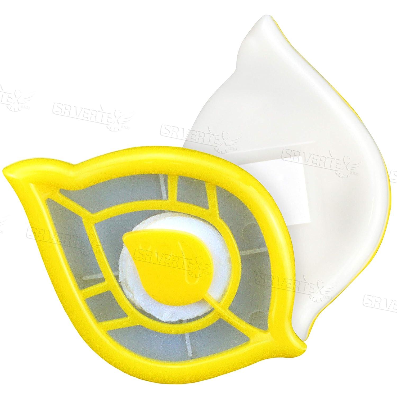 2er Pack Mülltonnenerfrischer Zitronen Kühlschrank Lufterfrischer Mit Clip Streifen Lebensmittel Getränke