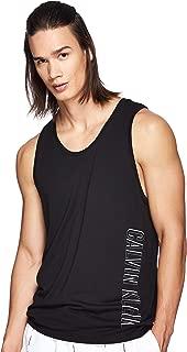 Calvin Klein Men's KM0KM00336-Black Tank Tops