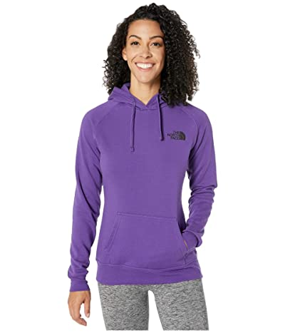 The North Face Red Box Pullover Hoodie (Hero Purple/TNF Black) Women