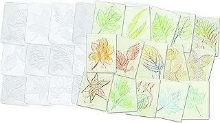 Roylco Leaf Rubbing Plates
