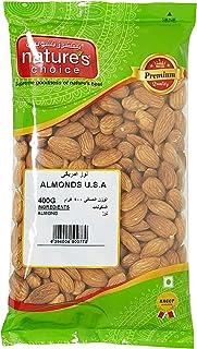 Natures Choice Almonds U.S.A. - 400 gm